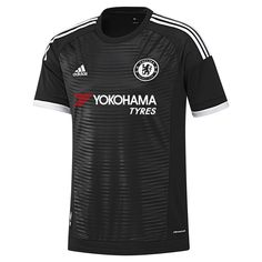 Chelsea went back to the black to help strike fear in opponents. With the dark design, the Adidas Chelsea Third jersey will be a favorite among fans. Get your Chelsea soccer jersey today at SoccerCorner.com.  http://www.soccercorner.com/Adidas-Chelsea-Third-15-16-Replica-Soccer-Jersey-p/tt-adah5113.htm