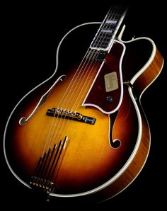 Gibson Custom Shop Lee Ritenour L5 Electric Guitar Antique Sunburst