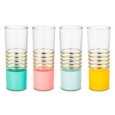 Oh Joy!® Glass Tumblers- 4ct