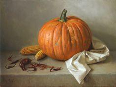Michael DeVore / The Great Pumpkin, 2013, oil on linen, 18x24in (46x61cm)