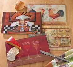 Cutting Boards from Tuesday Morning #TuesdayMorning #seektheunique #Christmas #gifts #kitchen #cuttingboards