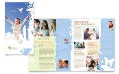 Christian Church Brochure Template Design by StockLayouts