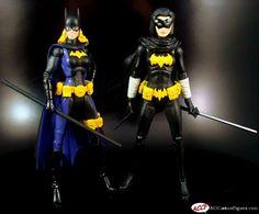 Batgirl Stephanie Brown (DC Universe) Custom Action Figure