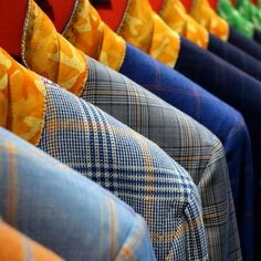 Bright bold plaid sport coats and suite will be trending this season and ...