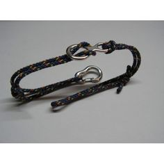 Rope Bracelet for Rock Climbers with Functional Climbing Carabiner and Figure Eight. The Carabiner is fully functional, working exactly like a real climbing carabiner. Also, the carabiner and the Climbing Figure 8 belaying device are made from Sterling Si Rock Climbing Training, Climbing Rope, Mountain Climbing, Paracord Bracelets, Bracelets For Men, Rock Climbing Techniques, Climbing Carabiner, Macrame Jewelry, Climbers