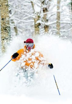 Face shots at Sunday River, Maine. #snow.