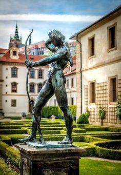 Garden Sculpture, Prague