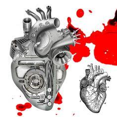 Steampunk heart 03 Silver by ~Gonchir on deviantART