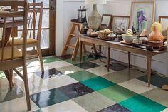 ¡LA NUEVA TENDENCIA: PISOS DE LINÓLEO! http://www.espacioliving.com/1898078-todo-lo-que-tenes-que-saber-sobre-los-pisos-de-linoleo