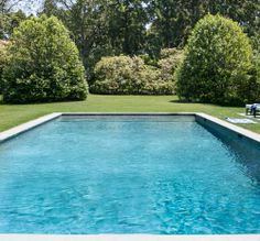 The perfect day: sun, pool and a beautiful garden scene