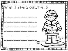 narrative essay on a rainy day