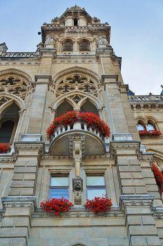 Rathaus (New City Hall)-Vienna, Austria
