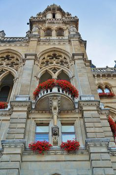 Rathaus (New City Hall)-Vienna, Austria