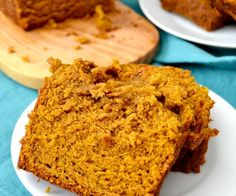 This Pumpkin Bread is the BEST EVER! Soft, fluffy, moist and tender with perfect pumpkin spice flavor! So easy, you probably have all the ingredients on hand!