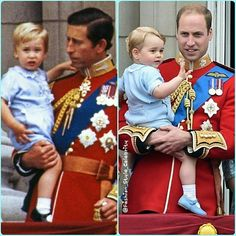 History Repeats Itself!#princewilliam #KateMiddleton #PrinceGeorge #PrincessCharlotte #royal #baby #blue #fashionkids #fashion #stylish #style #celebrity #omg #cute #sweet #beautiful #love #british #uk #royals #babe #bae #ootd #stripes #skinnyjeans #princess #queen... - Celebrity Fashion