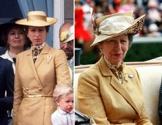 13 times Princess Anne schooled us on how to rock a retro outfit Princess Alexandra, Princess Margaret, Retro Outfits, Zara Phillips, Peter Phillips, The Queens Children, Royal British Legion, Queen Outfit, Charles And Diana
