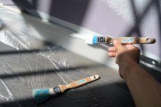 Cómo pintar las paredes de las habitaciones