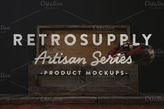 Check out Artisan Photoshop Mock Ups by RetroSupply Co. on Creative Market