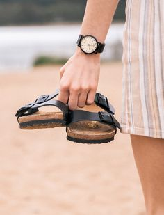 All you need for summer is sandals and a great watch