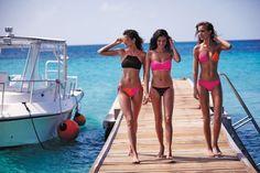 Victoria's Secret Swim 2016   Taylor Hill,  Sara Sampaio & Josephine Skriver