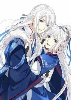 I love asian art and culture I want to collect everything I like! Manga Anime, Anime Guys, Anime Love Couple, Cute Anime Couples, Fantasy Characters, Anime Characters, Character Inspiration, Character Art, Otaku
