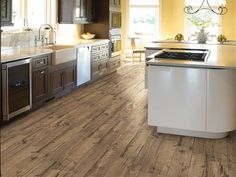 FIRED HICKORY 6X24 - Room Shaw Floors - Wood Look Tile