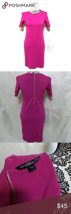 7fafc78ba249 Shop Women's Felicity & Coco Pink size XS Dresses at a discounted price at  Poshmark. Description: Cute office dress, church, brunch or lunch date.
