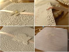 Paper lace wedding invitations - http://herbigday.net/paper-lace-wedding-invitations/
