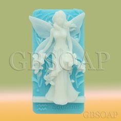Zodiac Aquarius Fairy handmade soap