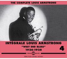 """INTEGRALE LOUIS ARMSTRONG - VOL 4 - WEST END BLUES - 29,99 € TTC - """"Je me souviens encore des Hot Five, avec Lil et Louis Armstrong. Sincèrement, c'était quelque chose d'inouï. C'est avec Louis que j'ai réalisé que le jazz était une musique qui n'avait rien à envier à aucune autre.""""  Nicholas Ray, cinéaste  #Librairieaudio #louisarmstrong #jazz #trumpeter #trumpet #musician #satchmo http://www.librairie-audio.com/fr/louis-armstrong/196-integrale-louis-armstrong-vol-4-3561302135427.html"""