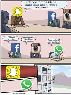 La verdad de las redes sociales        Gracias a http://www.cuantocabron.com…