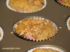 high protein hazelnut muffin
