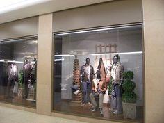 Harry Rosen Windows March 29 2012 West Edmonton Mall by darrellinyvr, via Flickr          #windows #retail #design #display