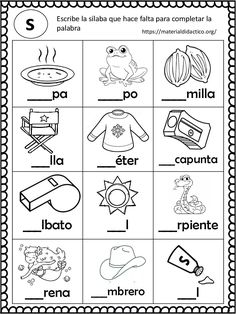 Printable Spring Quiet Book - Activity Book for Pre-K and K Spanish Lessons For Kids, Learning Spanish For Kids, Spanish Teaching Resources, Math For Kids, Bilingual Classroom, Bilingual Education, Classroom Language, Book Activities, Preschool Activities