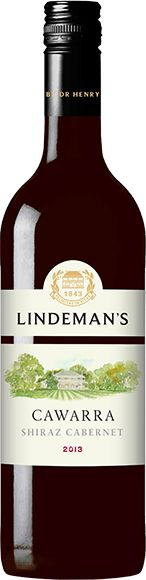 Lindeman's Cawarra Shiraz - Cabernet from Australia. A medium bodied red wine with dark berry flavours.