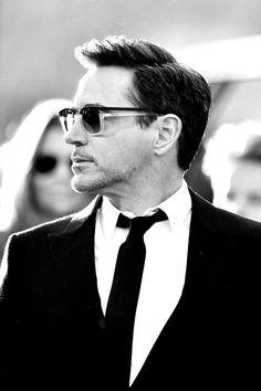 "Robert Downey Jr. (Tony Stark/Iron Man) at the premiere of ""Captain America: Civil War"" in Los Angeles, April 12, 2016."