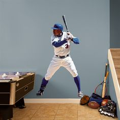 Fathead Wall Graphic | New York Mets Wall Decal |