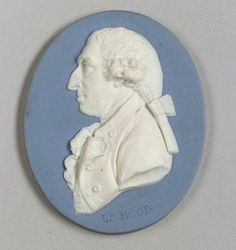 Wedgwood Solid Blue Jasper Portrait Medallion of Lord Hood   Sale Number 2264, Lot Number 137   Skinner Auctioneers