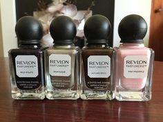 Nikkipedia: New nail polishes #nailpolish #nails #revlon #parfumerie #wildviolets #spunsugar #autumnspice #pinkpineapple #beauty