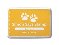 Simon Says Stamp Premium Dye Ink Pad SUNSHINE ink009