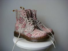 Treasury Item Doc Dr Martens Boots Boho by skinnybitchvintage