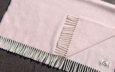 Baby Blanket Pink - 100% Lambswool