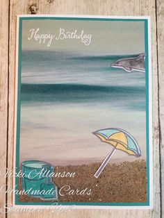 Stampin Up Day at the Beach