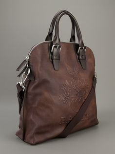BALLY - embossed tote bag 3