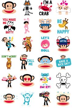 Paul Frank #FacebookSticker by Paul Frank Industries LLC Keep it rad with Julius and friends. #view #Medialogist