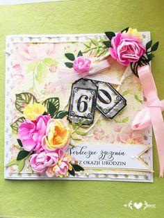 Kartka urodzinowa handmade card by KastelOfArt