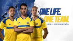 Nova camisa do Maccabi Tel Aviv