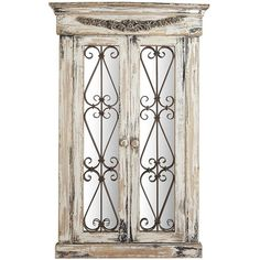 Pier 1 Imports White Merville Antiqued Window Mirror (£180) ❤ liked on Polyvore featuring home, home decor, mirrors, window, white, white home accessories, sea home decor, antiqued mirror, aged mirror and european home decor