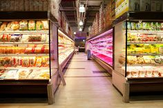 Sky Foods, a new 36,000-square-foot supermarket in Flushing, Queens, stocks 30 kinds of live fish and shellfish, as well as Asian produce and other staples.
