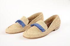 fringe shoesraffia shoes rafia shoes straw by PalmStyleShp on Etsy